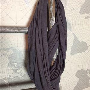 J brand infinity scarf grey GUC
